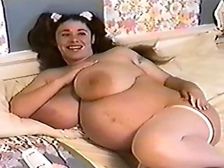 Preggie Step Mom With Big Caboose