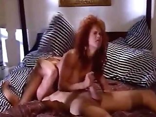 Antique Big Tits Sandy-haired Bunny Bleu Fucks For Facial Cumshot