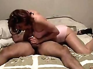 Fit Ginger-haired Cougar Cheats On Her Hubby With A Big Dick