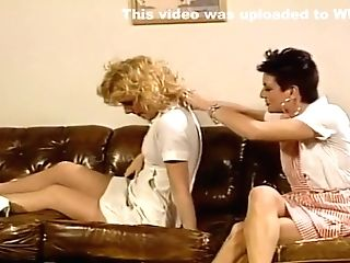 Three Lesbos Fooling Around Together