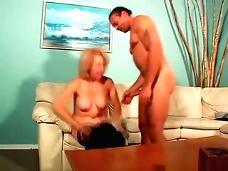 Cheating Cougar Screwed By Her Paramour
