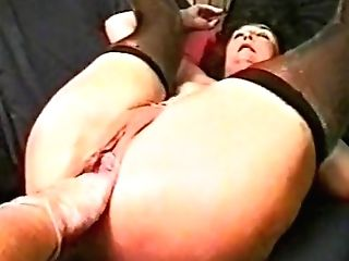 Chubby Matures Fisted And Bottled Antique