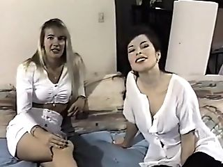 First-ever Time Lesbos Six - Scene 1