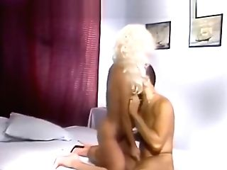 Blonde Cootchie Massaged By Stick