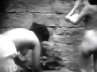 Antique Erotic Movie Nine - Jour De Lavage - Laundry Day 1920