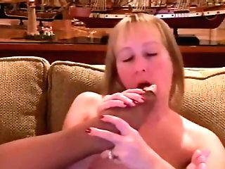 Mercedes Sucking Her Toes In Toeless Pantyhose [antique]