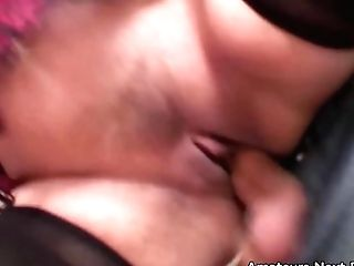 Big Natural Boobed Unexperienced Housewife Fucked In Her Kitchen